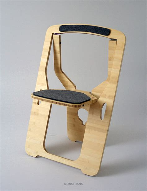 foldable chairs the folding chair for small spaces by monstrans
