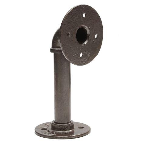 Bracket Gayung 1 2 Bracket Pipa Bulat Bracket Sing B 1 2 inch iron pipe shelf brackets support wall mount industrial holder 16x6cm sale banggood