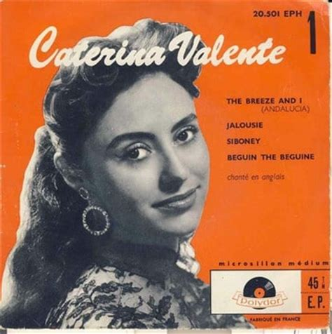 caterina valente siboney the breeze and i andalucia jalousie siboney