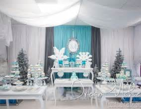 Frozen Birthday Decoration Ideas Winter Wonderland Birthday Party Decorations