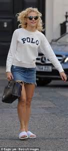 while the miniskirt has been pixie lott world pixie lott shows off wild curls as she