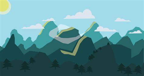 flat landscape illustrator tutorial for beginners youtube flat landscape illustrator tutorial bellow by sad chesh on