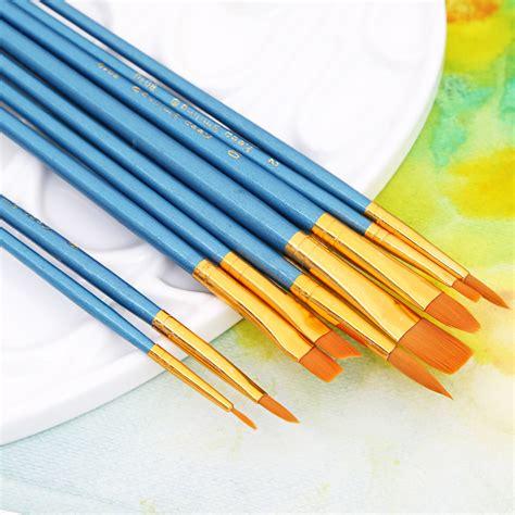 Kuas Lukis No 6 Toscano kuas lukis gambar 10pcs blue jakartanotebook