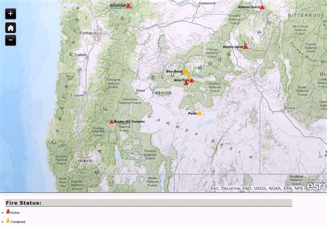 map of oregon forest fires related keywords suggestions for oregon wildfire map
