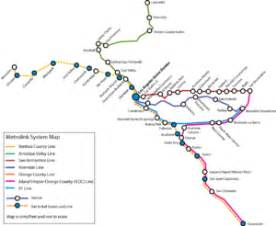 southern california amtrak map list of metrolink california stations