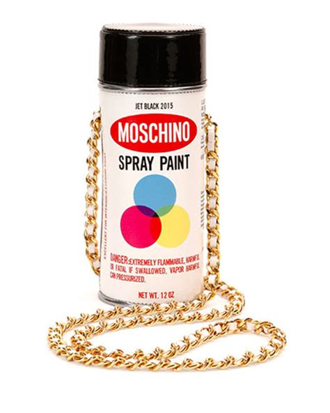 Moschino Spray Paint moschino spray paint shoulder bag white multi neiman