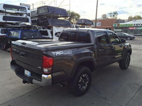Topper For Toyota Tacoma 2016 Tacoma 202 Black Are Lsii Tonneau Suburban Toppers