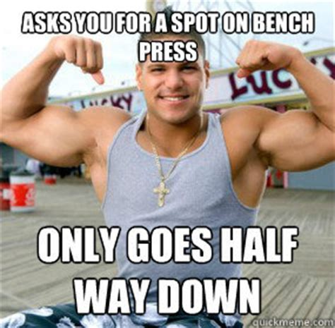 Bench Meme - doing it better dumbbell bench with progressions