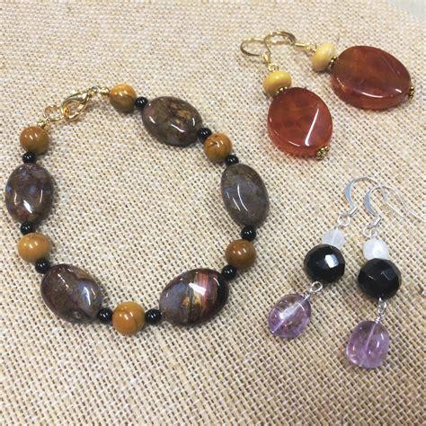 beginning jewelry class list registration white fox bead studio