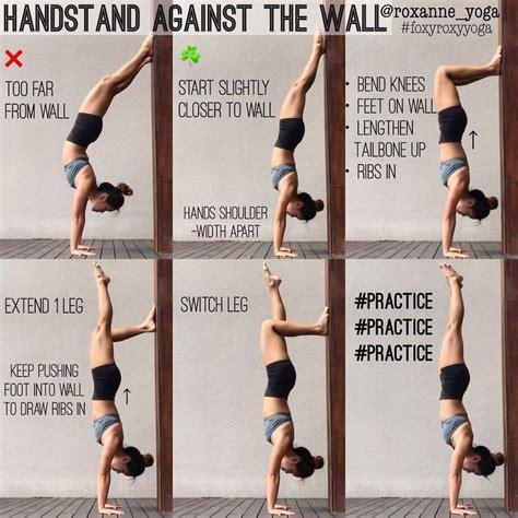 yoga handstand tutorial for beginners 1 886 mentions j aime 20 commentaires roxanne gan