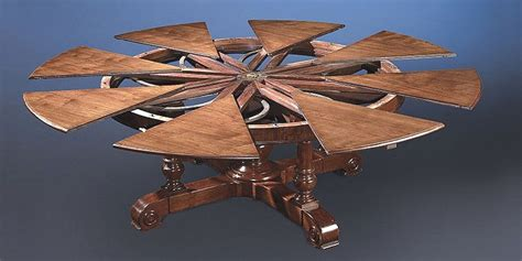 expanding table mechanism art and architecture mainly jupe table clever