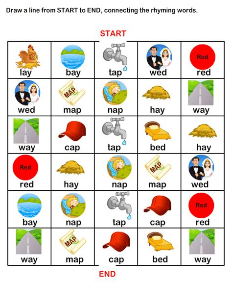 5 Activities To Start by Esl Efl Worksheets Kindergarten Worksheets Rhyme Time
