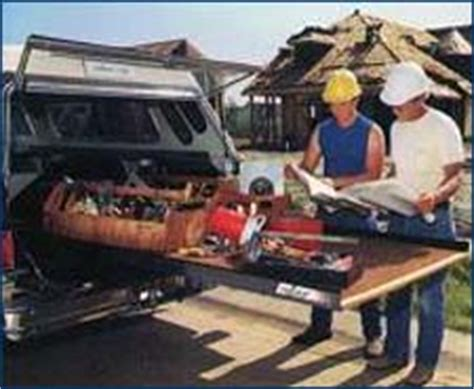 truck bed roll out ergonomics etool solutions for electrical contractors