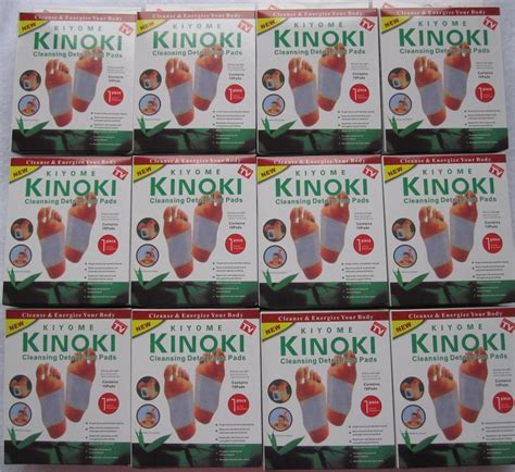 Kinoki Foot Detox Patches Ingredients by Kinoki Detox Foot Pads 10pcs End 11 28 2019 8 48 Pm