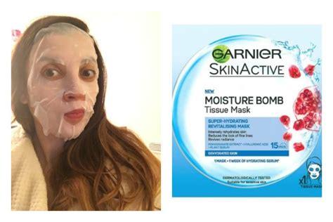 Masker Sheet Garnier sheet masks trying the trend average janes