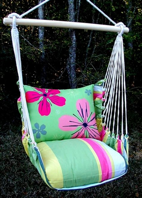 pattern for fabric hammock chair floral hammock swing chair flower pattern w stripes