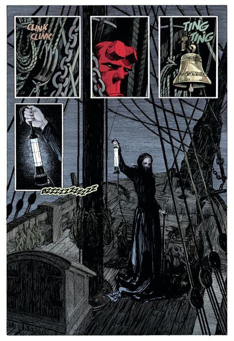 hellboy into the silent hellboy into the silent sea hc profile dark horse comics