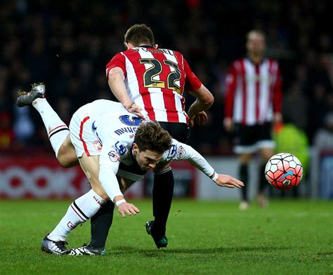 emirates fa cup jack o connell photos photos brentford v walsall the