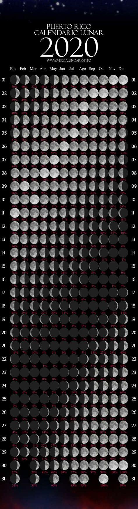 calendario lunar  puerto rico