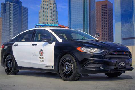 ford police responder hybrid sedan  fusion  gen
