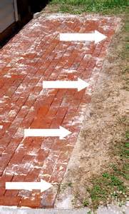 how to build a brick patio the scrap shoppe