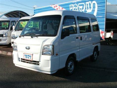 subaru van 2010 subaru sambar van transporter 2010 white 47 000 km