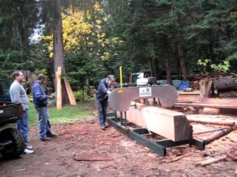 backyard sawmill backyard band sawmill vi youtube