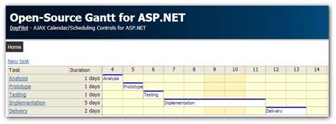 tutorial visual basic asp net open source gantt chart for asp net c vb net