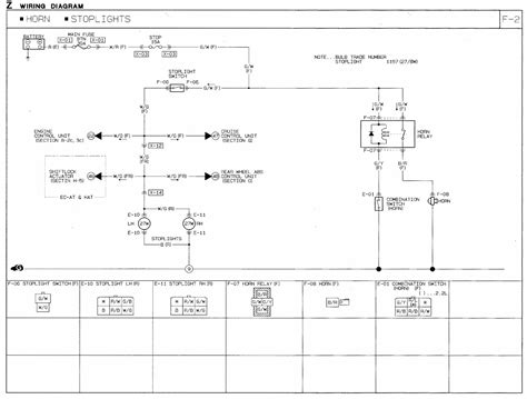 mazda lights wiring diagram wiring diagram with description