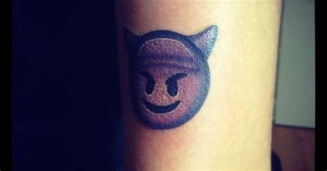 emoji tattoo meaning tattoo emoji devil emoji tattoos pinterest