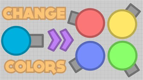 change color how to change colors console modding tutorial diep io