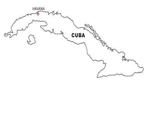 coloring page map of cuba cuba map coloring color area