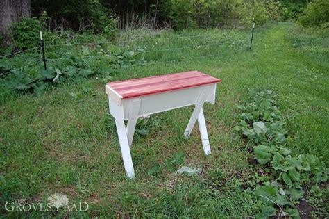building a top bar hive building a top bar hive the grovestead