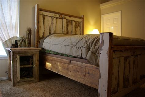 using an old door as a headboard reclaimed rustics vintage door headboard