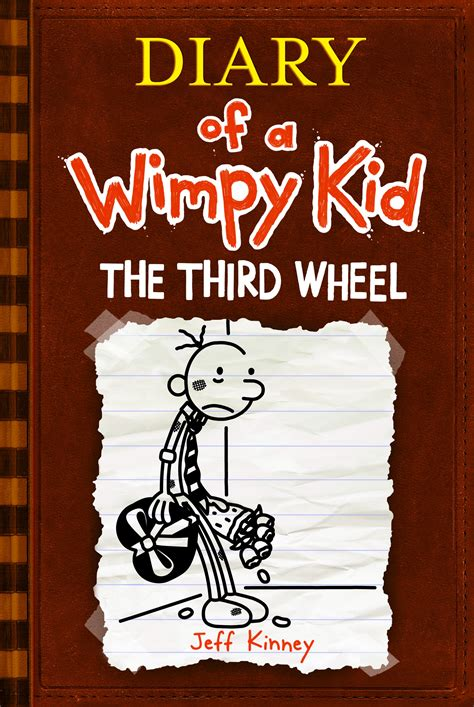 pictures of jeff kinney books book review diary of a wimpy kid the third wheel jeff