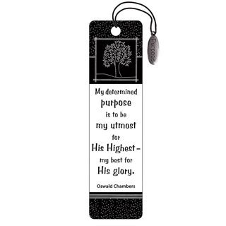 Their Black Bookmarks quot romans 8 28 quot black white bookmarks w charm