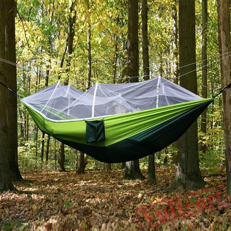Hamac Outdoor by Outdoor Cing Hammock With Mosquito Net Jungle Hammock