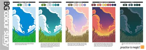 top 28 colors for studying colours for study room bg colour study for koniak by hatsuraikun on deviantart