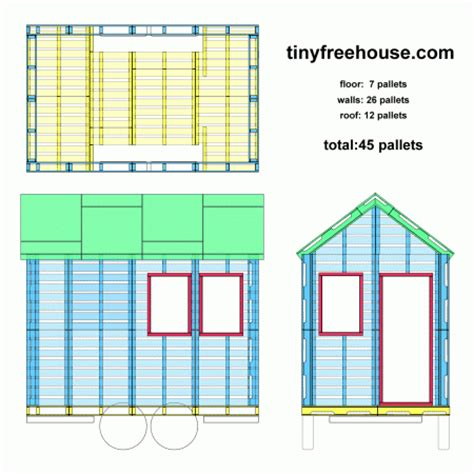 tiny pallet house plans building a tiny house with shipping pallets tiny home blog