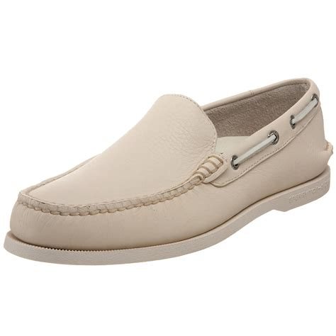 sperry top sider loafers sperry top sider mens authentic original loafer in beige
