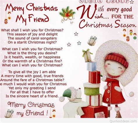 quotes friends merry christmas