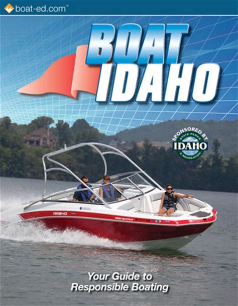 idaho boat license idaho s official boating safety course and online boating