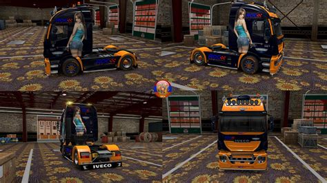 skin pack new year 2017 for iveco hiway and volvo 2012 iveco hiway maserati combo skin packs 1 27 2 4s truck