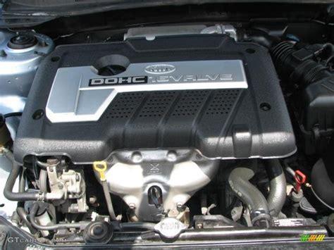 Kia Spectra 2003 Engine 2004 Kia Spectra Lx Sedan 2 0 Liter Dohc 16 Valve 4