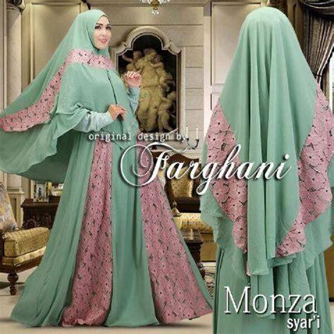 Maxy Tiara Brokat model baju brokat muslim modern
