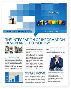 Business Strategy Education Newsletter Template For Microsoft Word Adobe Indesign 02836 Business Newsletter Templates
