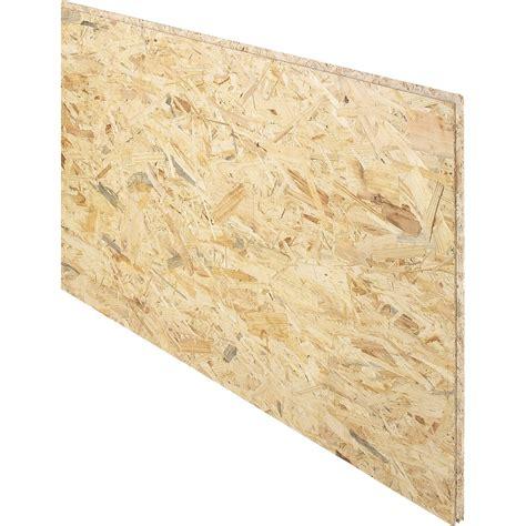 Dalle de plancher osb 3 3 plis épicéa naturel, Ep.18 mm x