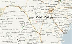 dimmit county map carrizo springs location guide