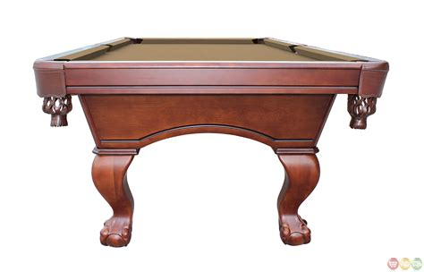 8 foot slate pool table furniture style w claw