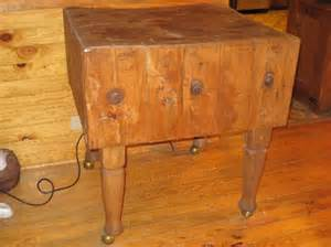 sale antique maple butcher block was 925 00 an early 20th century maple butcher block on four turned